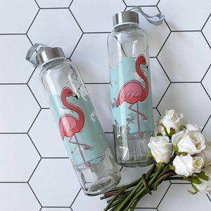 Large Flamingo Water / Tea Bottle